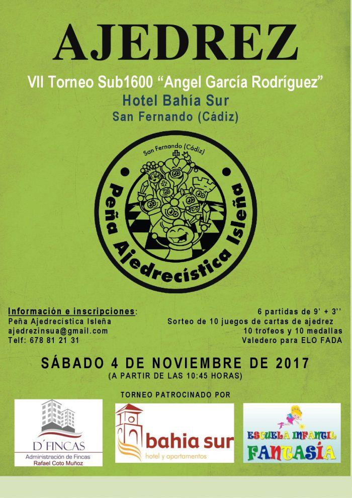 Cartel torneo sub1600 Angel Garcia noviembre 2017-001